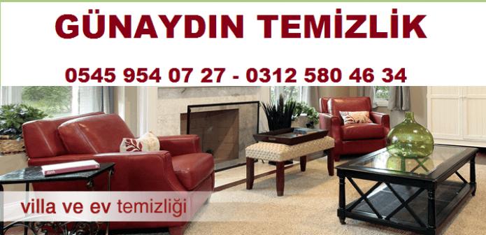 Günaydın Temizlik – Ankara da Ev Temizliği