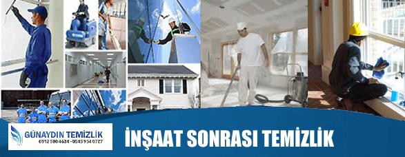 İnşaat Sonrası Temizlik Hizmeti Ankara